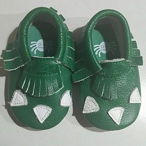 Other - 0-6mos Baby dino moccasins
